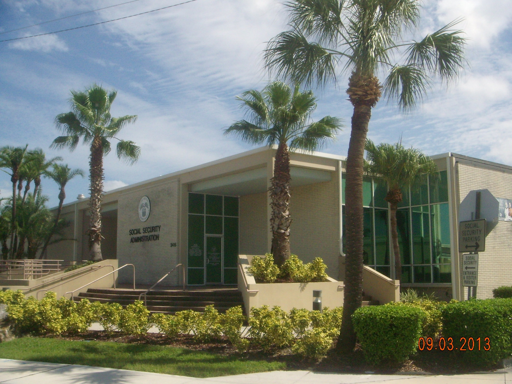Tampa Social Security Administration Office E Frontage