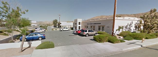 Yucca Valley Social Security Administration Office