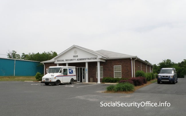 Albemarle Social Security Office