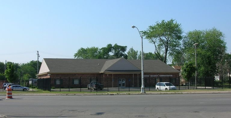 Detroit Social Security Office  	5715 MICHIGAN AVE